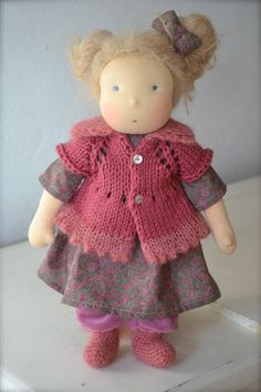 Marie Lou 16in 1000Rehe Doll by 1000Rehe on Etsy
