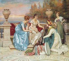 Choosing the Finest oil painting reproduction by Charles Joseph Frederick Soulacroix - NiceArtGallery.com