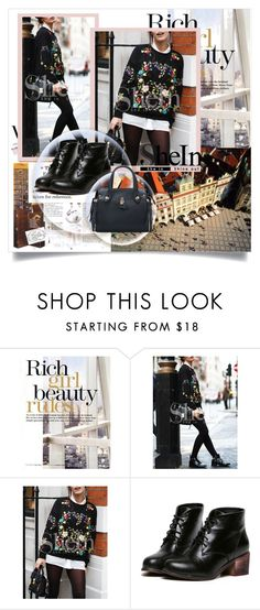 """SheIn V/2"" by zenabezimena ❤ liked on Polyvore featuring National Geographic Home, topset and shein"