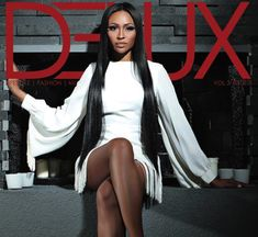 'The Real Housewives of Atlanta' reality starlet Cynthia Bailey is super glam on the cover of DENIM's Model Issue. In the article the model. Housewives Of Atlanta, Real Housewives, Cynthia Bailey, Black Goddess, Dress Hairstyles, Indian Hairstyles, Beauty Shots, Tall Women, Black Women