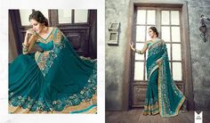SBTrendZ All heavy fancy fabrics with embroidary sarees Design number :- 4001 to 4010 Rate flat :- 2195/-  shipping Each singles  Book now limited stock  For more details and to order mail us on sbtrendz@gmail.com or Whatsapp 91 9495188412; Visit us on http://ift.tt/1pWe0HD or http://ift.tt/1NbeyrT to see more ethnic collections.   #Jacket #Lehenga #Gown #Kurti #SalwarSuit #Saree #ChiffonSaree #salwarkameez #GeorgetteSuit #designergown #CottonSuit #AnarkalaiSuit #BollywoodReplica…