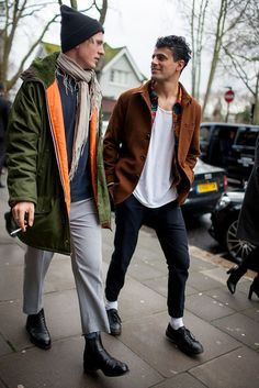 Street Style: London Fall 2016 Menswear Collections [PHOTOS] | WWD