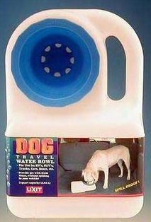 Best price going on the Lixit Waterboy spilless water bowel! http://www.mightymitedoggear.com/dog_travel_water_bowls.html