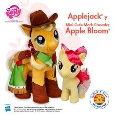 Applejack y Apple Bloom Build A Bear, My Little Pony, Workshop, Bloom, Apple, Atelier, Apples