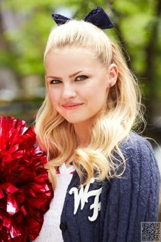 Cheerleader Hairstyles Hairstyles Tips And Advices At Hairstylestuff  Cheerleading