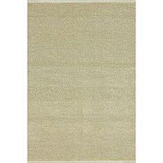 @Overstock - Add a touch of elegance to your home decor with a soft rug Woven area rug is made with natural fibers like sea grass and cotton Casual floor rug features rich shades of ivory http://www.overstock.com/Home-Garden/Sherbrook-Ivory-Rug-710-x-11/4005845/product.html?CID=214117 $123.99