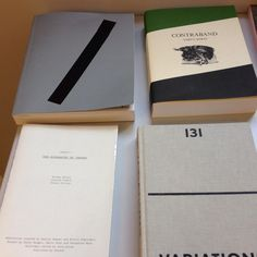 Book covers:  -Contraband by Taryn Simon -131 variations by Fleur Van Dodewaard - Auto Body Collision by Mousse Magazine - Chapter 1:The Hierarchy of Images by Nicolò Degiorgis