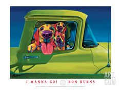 I Wanna Go, by Ron Burns