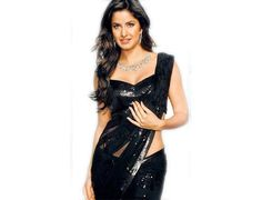 Be prepared with an irresistible charm in this dazzling replica saree in black designed on net fabric worn by #KatrinaKaif #Fashion #Celebrity