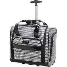Nicole Miller NY Luggage Kristina Wheeled Under Seat Bag