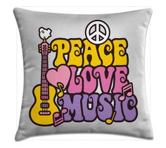 Peace, Love, Music (capa) - Kombigode Store