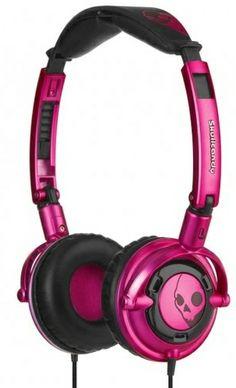 Skullcandy LOWRIDER Pink/Black w/Mic
