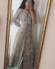 Made on orders Worldwide Delivery In pakistan half payment Advance Foreign countries Advance Contact at watsapp : Pakistani Party Wear, Pakistani Wedding Outfits, Pakistani Couture, Bridal Outfits, Pakistani Dresses, Indian Dresses, Pakistani Clothing, Wedding Hijab, Desi Wedding Dresses