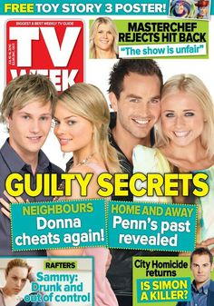 Neighbours Andrew and Donna and Home and Away Penn and