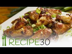 Honey And Soy Sticky Chicken Wings – Easy Meals with Video Recipes by Chef Joel Mielle – RECIPE30