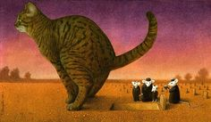 L'univers satirique de l'illustrateur Pawel Kuczynski « WALL MAGAZINE