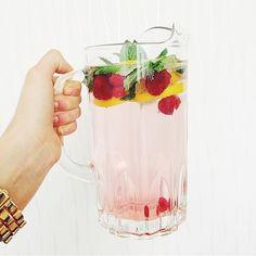 Raspberry + Lemon + Mint