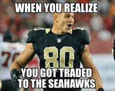 Welcome Jimmy Graham! I posted this before BUT after 10/2/16 game against Jets where Jimmy TOASTED them - and NO is at 1-3 - I hope 88 is super happy he is with US!