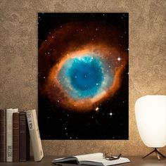 Metal Poster Space Eye