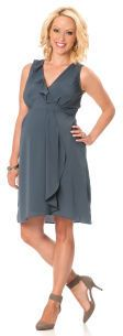 Motherhood Sleeveless Empire Waist Maternity Dress on shopstyle.com