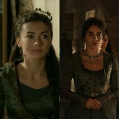 Magnificent heritage- olive dress and yelek