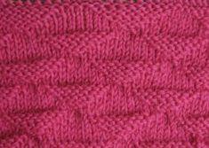 Stekenbibliotheek: mooie breisteken uitgelegd met breischema en tekst Knitwear, Knit Crochet, Knitting, Crafts, Plaid, Craft Work, Tricot, Tricot, Breien