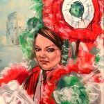 Ritratto a maschera di Viareggio