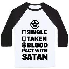 Blood Pact With Satan Baseball
