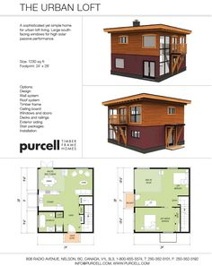 Purcell Timber Frames - The Precrafted Home Company - The Urban Loft