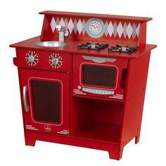 KidKraft Klassische Küchenzeile - Rot