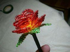 Starburst Beaded Rose.