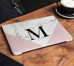 Marble Laptop Skin Sticker Name Notebook Vinyl Decal Dell Hp Lenovo Asus Chromebook Acer Laptop Decal Cover Skin For Any Laptop Sticker