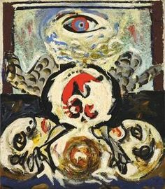 Jackson Pollock - Abstract Expressionism - Bird