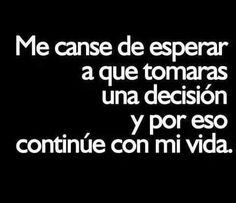 Me canse