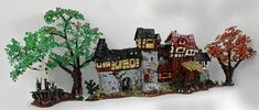 https://flic.kr/p/HR2Wie   The Front - Lego MOC of a fantasy medieval house front   My 1st MOC ever! Took me quite a while :-) Hopefully the next ones will be faster so I can add a few in 2018 :-)