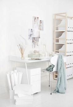 all white studio-office-shop xo