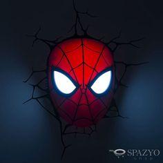 Estreia nos cinemas e na Spazyo Shop. Confira a nossa linha Heroes: http://www.spazyoshop.com.br/luminaria-infantil Clicou, Iluminou! Arandela 3D Marvel Kids, com todo o realismo do seu super-herói favorito. O Homem Aranha chega com suas cores vermelho e preto podendo ser usado no quarto ou brinquedoteca das crianças.  #arandela #marvel #spiderman #homemaranha #heroi #heroes #avengers #teamcap #teamironman #iluminacao #led #luz #quarto #brinquedoteca #criancas #lojavirtual #ecommerce…