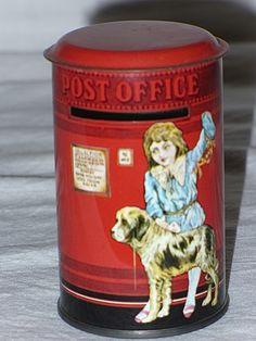 Post box- money box- 80's