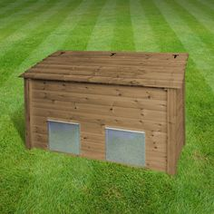 Ridlington Double Coal Bunker (available in light green/rustic brown)