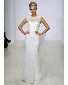 New wedding dresses by Christos from the designer's Spring 2013 bridal runway collection.