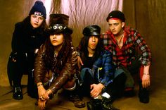 Linda perry was into steampunk before it even became cool. She pretty much made steampunk!