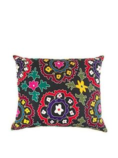 Found Object Lindi Extra Large Suzani Floor Pillow