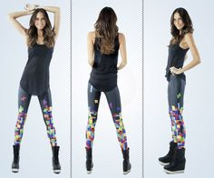tetris leggings ftw!     if i ever get married, following the ceremonies and celebrations, i want my wife to change out of her dress, put these on, and for us to go dancing all night long.      dream it.  live it.
