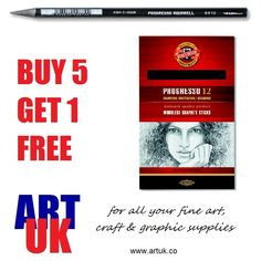 Koh-i-noor artists solid graphite woodless #progresso #pencils #sketching drawing,  View more on the LINK: http://www.zeppy.io/product/gb/2/131743987254/