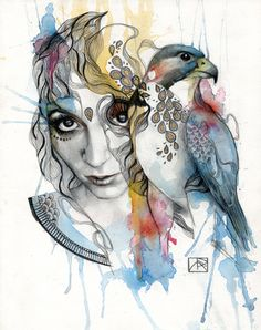 Falcon by Patricia Ariel
