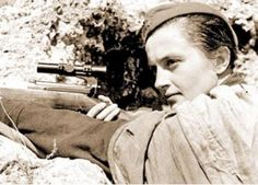 Hell Hath No Fury - The Story Of Lyudmila Pavlichenko. The Russian Female Sniper Who Hit 309 Nazi Soldiers. (Even Rambo Didn't Kill Like This.)