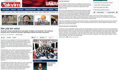 19 Mart 2012 tarihli Takvim Gazetesi  http://www.takvim.com.tr/kultur_sanat/2012/03/19/her-yuz-bir-umut