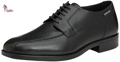 Mephisto CONNOR CARNABY 17800 BLACK, Chaussures Oxford hommes - Noir - Schwarz (CARNABY 17800), Taille 43 EU - Chaussures mephisto (*Partner-Link)