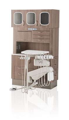 Browse dental cabinets and consoles from the Henry Schein Dental Digital Equipment & Technology Catalog including operatory cabinets and sterilization cabinets. Dental Cabinet, Dentist Clinic, Clinic Interior Design, Venus, Room, Bedroom, Dental Hospital, Rooms, Rum