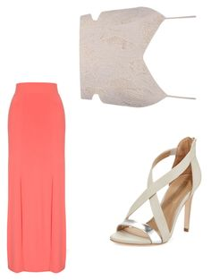 """Untitled #34"" by mayceyblair ❤ liked on Polyvore featuring Jane Norman, Heartloom and BCBGMAXAZRIA"